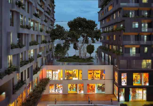 KLERING-Tirane,shes super apartament 2+1,121.000 Eur (SQUARE 21) Apartamenti eshte I pozicionuar ne nje zone te qete dhe te preferuar per banim n