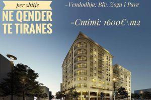 Tirane, shes apartament 1+1+A+BLK, 73 m² 117.000 Eur (Blvd ZOGU I) Apartamenti eshte i tipit 1+1, perbehet nga 1 sallon, 1dhome, 1 tualet dhe ballk