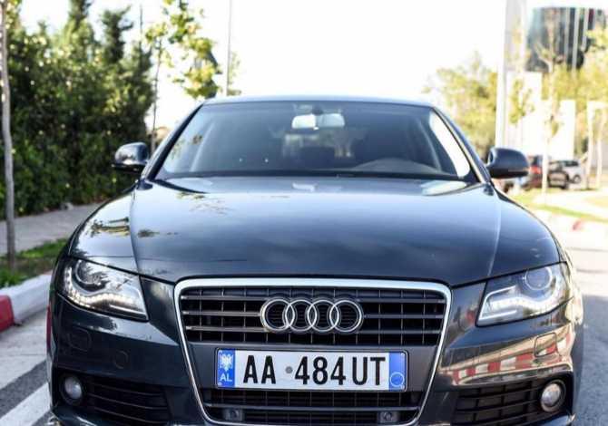 "Car Rental in Tirana Audi 2009 supplied with Diesel Car Rental in Tirana near the ""Rruga e Elbasanit/Stadiumi Qemal Stafa"""