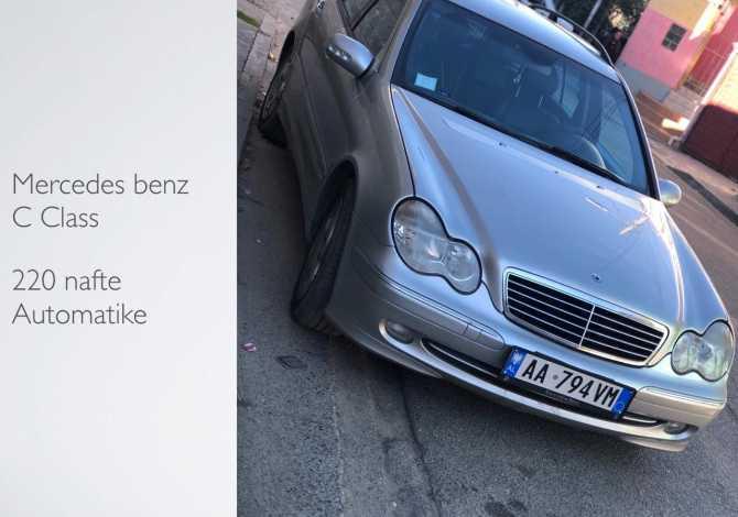 Mercedes-Benz C-class me qera 3-5 dite 25€ 6-10 dite 22€ 10- dite 19€ Rent a car 🚘 🇦🇱tipi /type: mercedes-benz c-class motorr/ engine: 2.
