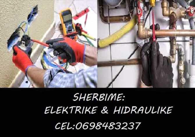 Ndertime dhe Ristrukturime SHERBIME ELEKTRIKE DHE HIDRAULIKE