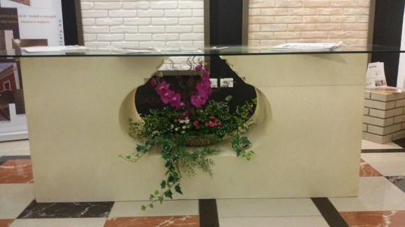 Panele Polisteroli te veshur me gure natyral per shtepite,zyren,bisnesin tuaj