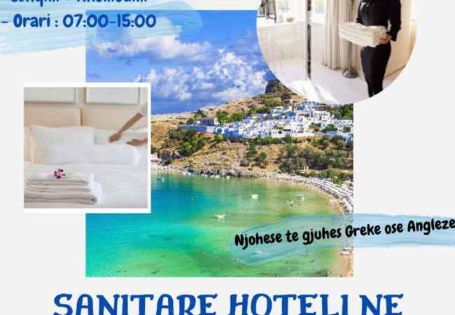 PUNETORE HOTELERIE NE RHODES !!! 750 EURO NE MUAJ !!!