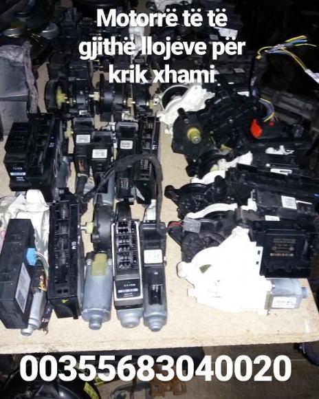 Motorre te te gjithe llojeve per krik xhami - Tel, SMS, Whatsapp, Viber - 00355683040020