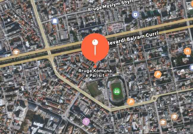 Shop for sale Paris Commune in Tirana (ID 4171136) Property ID: 4171136   The Paris Commune, near the Dinamo complex, is for sale s