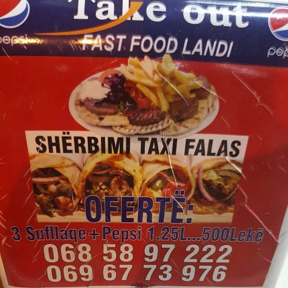 Take Out Landi-Sherbim Taxi