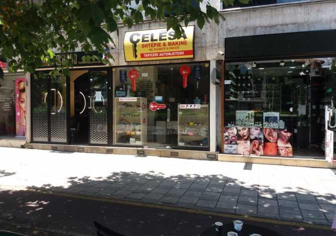 Shitet Dyqan Në Një Nga Rrugët Më Ekskluzive Të Kryeqytetit Shitet dyqan 28m2 në një nga rrugët tregtare më të frekuentuara të kryeqyt