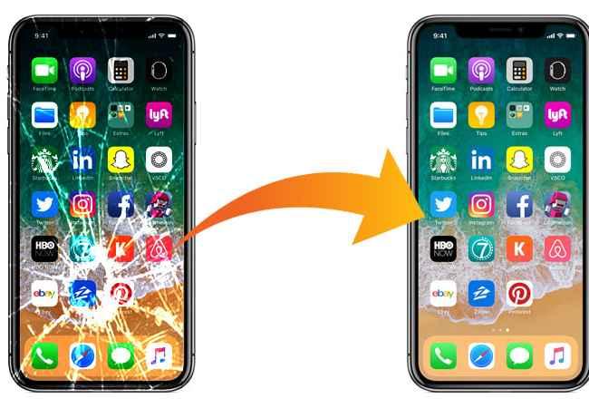 Sherbime Sherbime Profesionale  📌Servis-Nderrimi i Xhamave per IPhone dhe Samsung