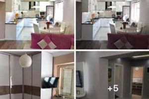 id:103752 - Selling a partially furnished apartment in the center of Tirana, Durres Street