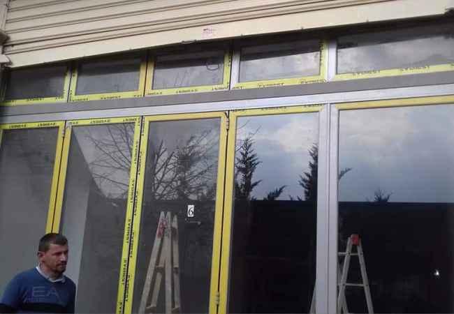 Punime duralumini/fasada xhami/dyer dritare plastike tenda djelli etj...