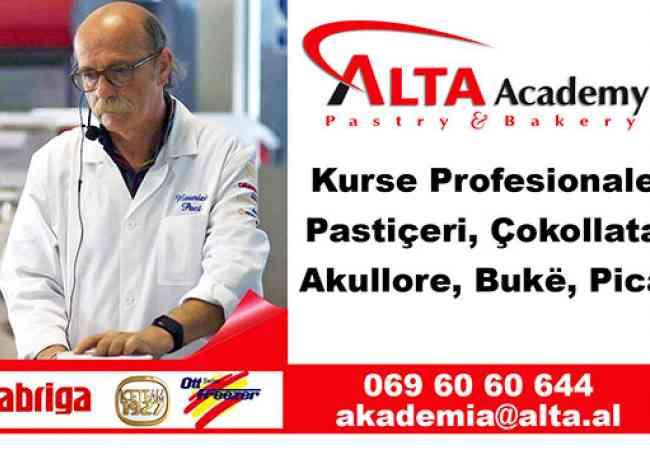 Pune Oferta Kurse Profesionale Alta Akademi - Kurse te Licensuara Profesionale Pasticeri, Akullore, Bar/Kafe