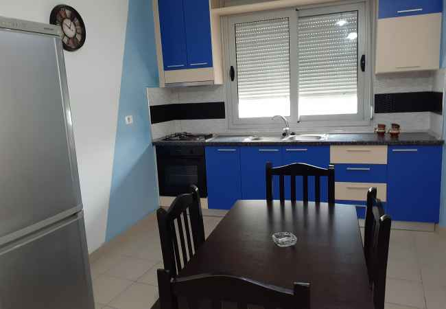 Placed 1 + 1 placement. Apartment 1 + 1, maximum 4 persons. All appliances: cooking kitchen, 24 hours wa