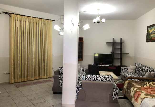 rented house furnished with modern furniture
