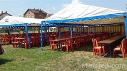 Sherbime Organizime festash Cadra me qera per dasma dhe organizime te ndryshme. Tavolina, stola dhe kuzhinier