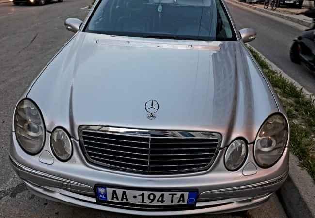 Mercedes Benz Shitet ose nderrohet E Class 320 Cdi 211, viti prodhimit 2002.Dokomenta te pag