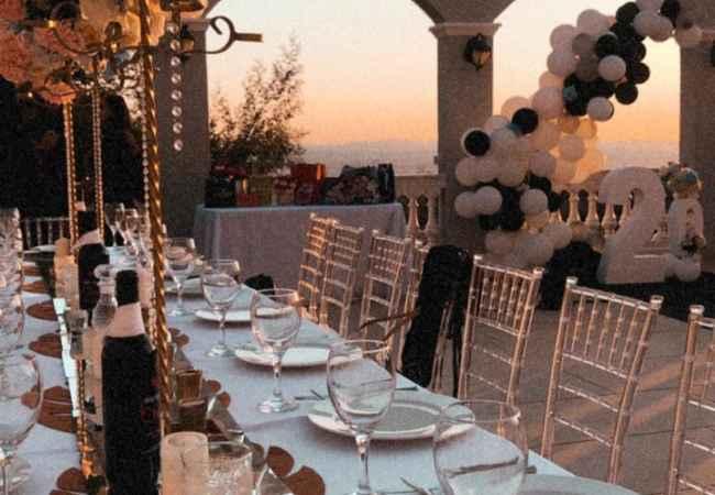 Organizime festash Dekor, i dasmes jashte sic e do protokolli.