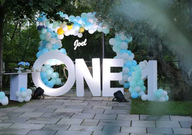 Organizime festash Dekor ditelindje & festa 120euro