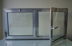 Sherbime Ndertime dhe Ristrukturime Shes dritare alumini per tualete, bodrume dhe magazina