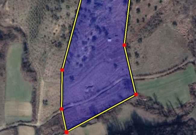 Shitet ullishte Ulishtja eshte e rrethuar me porte kryesore, me uje vadites ne mes te parceles.