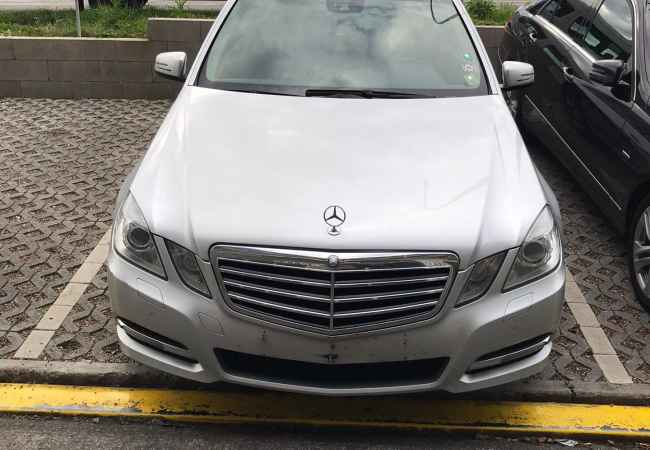 "Car Rental Mercedes-Benz 2019 supplied with Diesel Car Rental in Tirana near the ""21 Dhjetori/Rruga e Kavajes"" area .Thi"