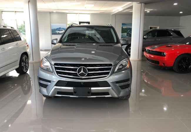Mercedes Benz Ml 2014