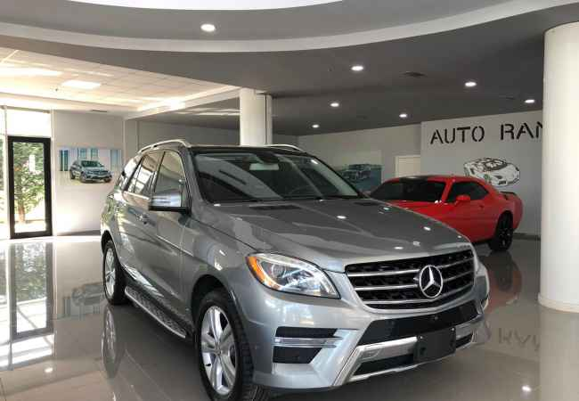 Mercedes Benz Ml 2014 2014 Ml Diesel Amg Look-180km ,super super clean,Direkt from Mercedes Benz Store