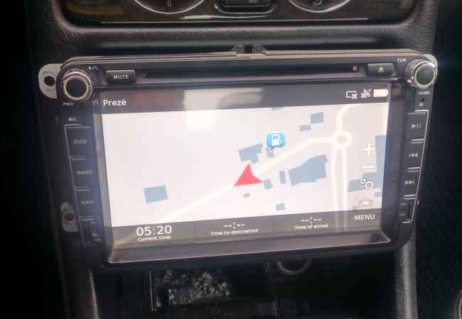 DVD navigator wolksvagen Shes DVD navigator Volkswagen me ekran te math  sede memorje blututh DVD radio e